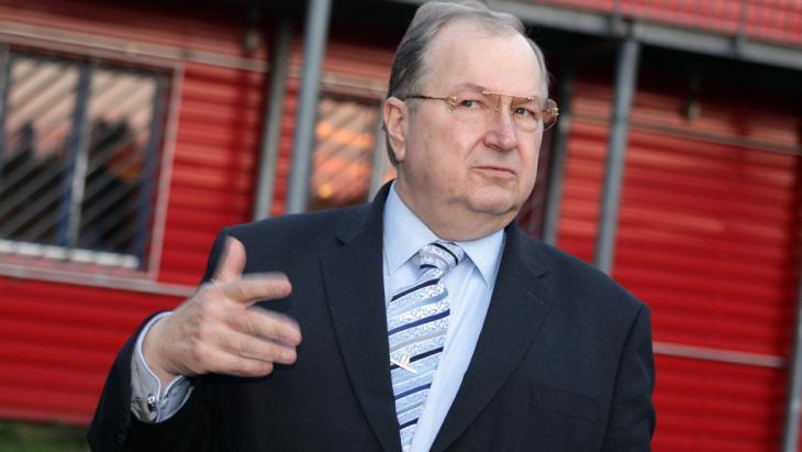 رئيس بلدية منطقة برلين نويكولن المنتهية ولايته هاينتس بوشكوفسكي. Foto: dpa/picture-alliance