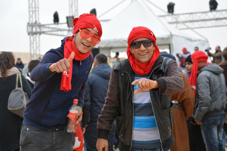 "Elektro-Festival ""Les Dunes Electroniques"" in Tunesien; Foto: Jannis Hagmann مهرجان ""الكثبان الإلكترونية"" للموسيقى الإلكترونية في تونس"