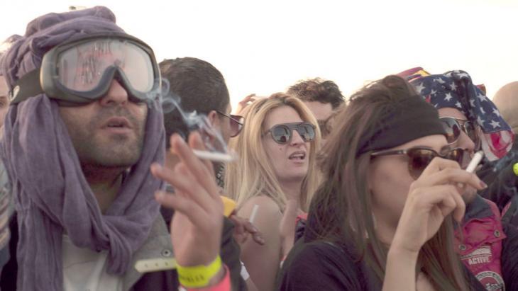 """Festival Dunes Electroniques in Tunesien; Foto: DW/S. Mersch مهرجان """"الكثبان الإلكترونية"""" للموسيقى الإلكترونية في تونس"""