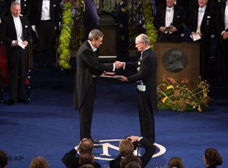 Orhan Pamuk erhielt 2006 den Literatur-Nobelpreis; Foto: AP