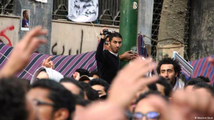 أبانوب عماد صحفي فيديو بـالمصري اليوم