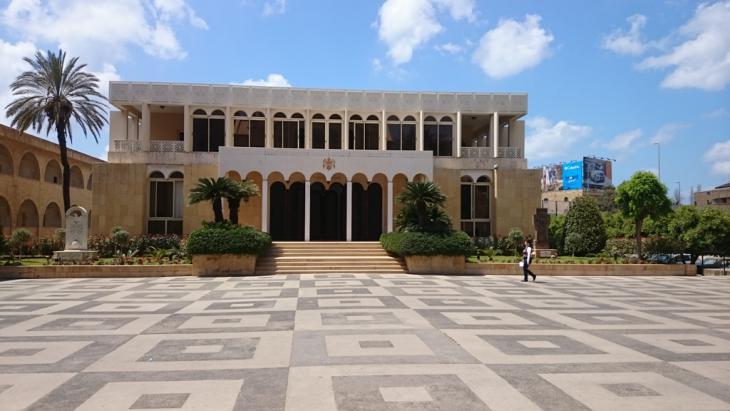 مقر البطاركة الارمن في بيروت.  تصوير خلدون زين الدين ، انطلياس 22 ابريل 2015