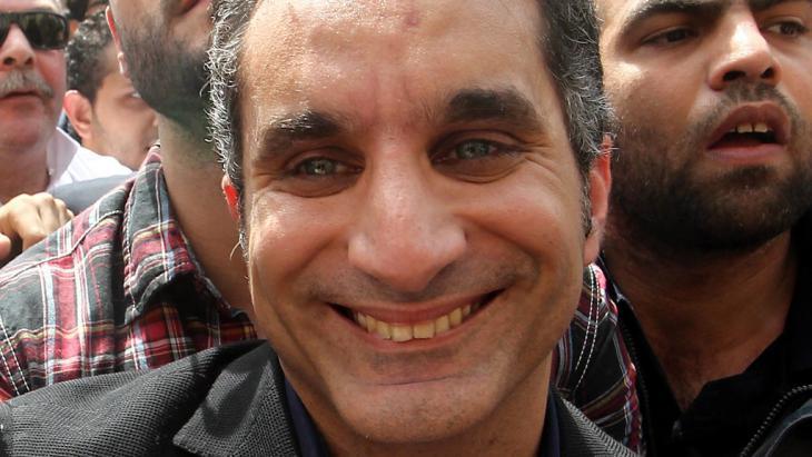 باسم يوسف. Foto: dpa/picture-alliance