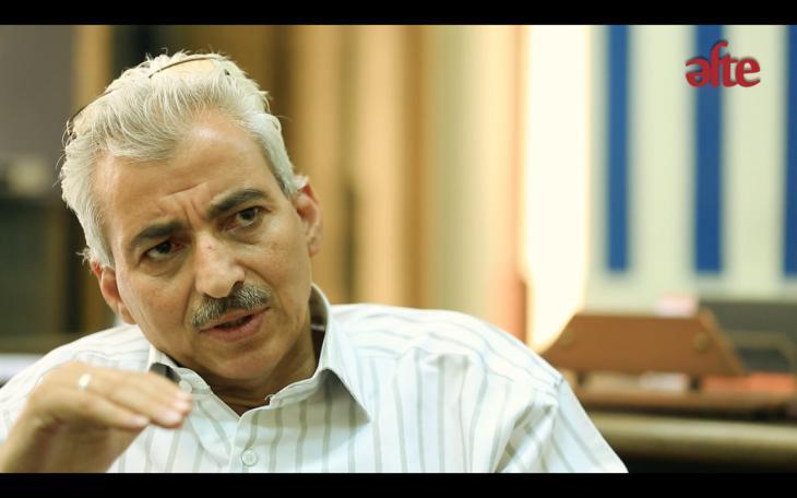 """فتحي عبد الستار. Fathy Abdel Satar, Chef der """"Aufsicht über künstlerische Erzeugnisse"""" des ägyptischen Kultusministeriums"""