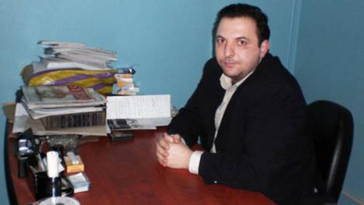Der syrische Journalist Mazen Darwish; Foto: Mazen Darwish