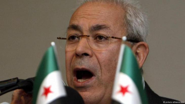 Burhan Ghalioun (photo: dpa/picture-alliance)