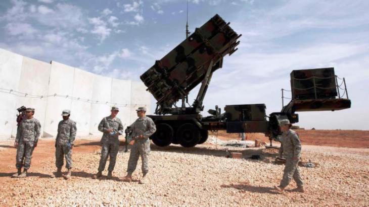 صواريخ باتريوت في منطقة غازي عنتاب التركية. رويترز