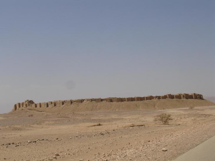 سور مدينة براقش الأثري- قبل القصف Baraqish a town in northwestern Yemen. Photo: Amida Sholan