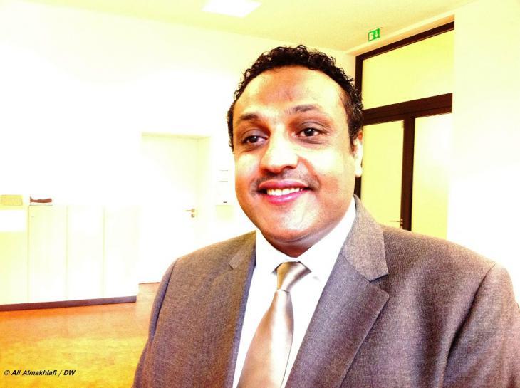 Esmat Al-Aghbari, jemenitischer Geschäftsmann in Deutschland