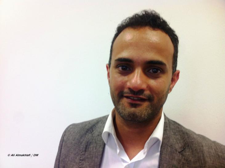Rami Al-Ariki, hat in Deutschland Medizintechnik studiert