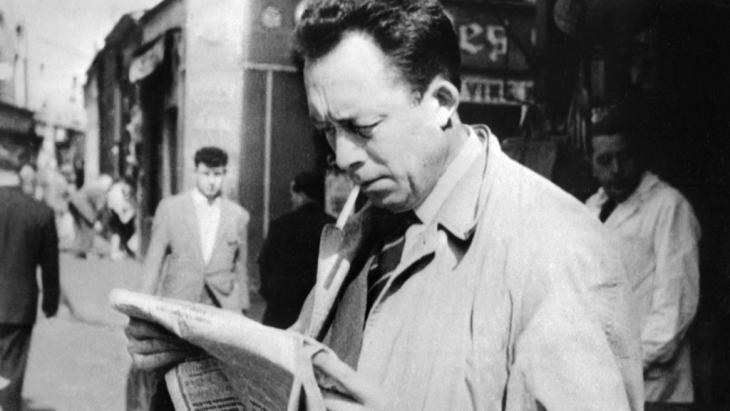 Der französische Literaturnobelpreisträger Albert Camus. Foto: STF/AFP/ Getty Images