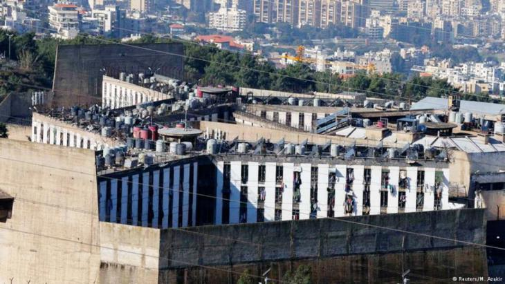 """يقبع في سجن """"رومية"""" شرق بيروت 160 شخصا متهمين بالإرهاب"""