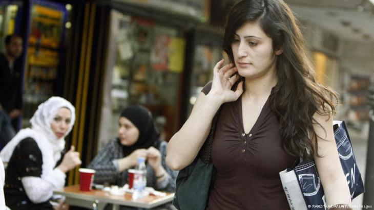Frauen in einer Straße von Beirut; Foto: AFP/Getty Images