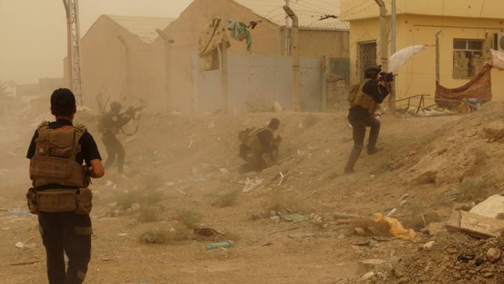 Irakische Sicherheitskräfte im Kampf um Ramadi; Foto: Reuters