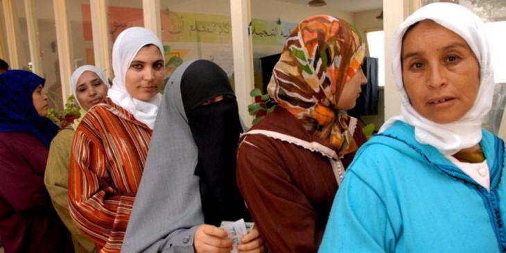 Marokkanische Frauen; Foto: dpa