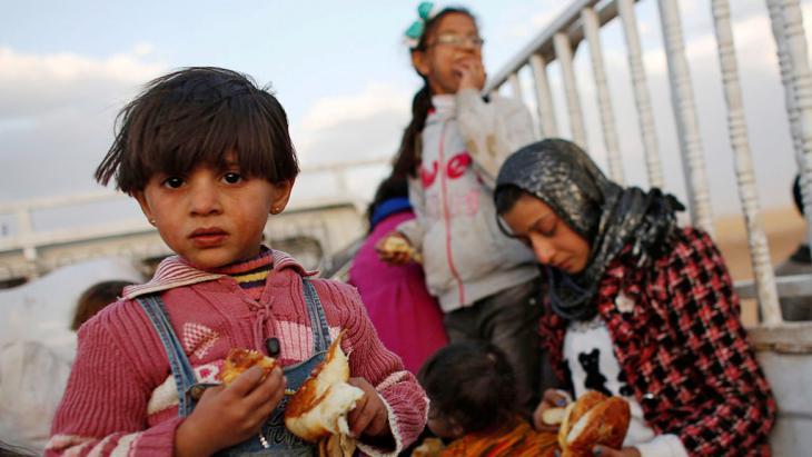 لاجئون سوريون في تركيا. Foto: Reuters/Murad Sezer