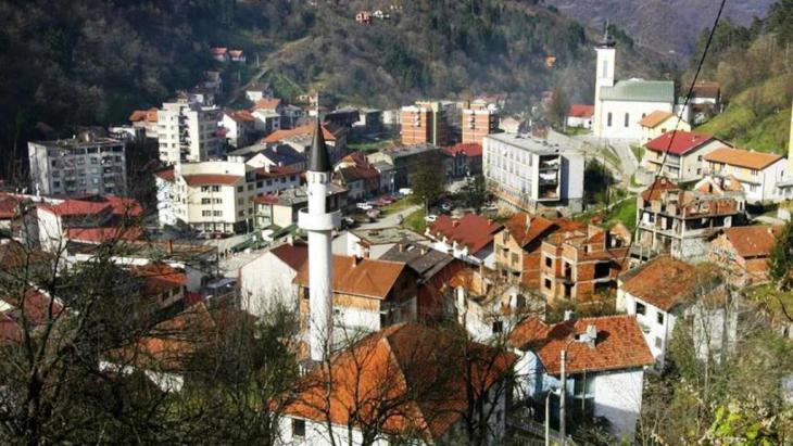 جانب من مدينة سربرنيتسا