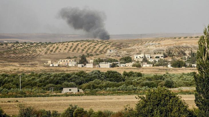 الحدود التركية السورية. Foto: picture-alliance/AA