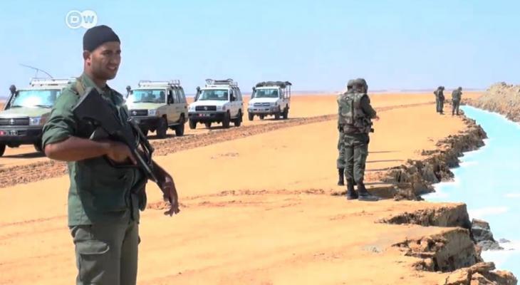 الحدود الليبية التونسية
