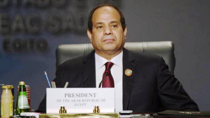الرئيس المصري عبد الفتاح السيسي. Getty Images