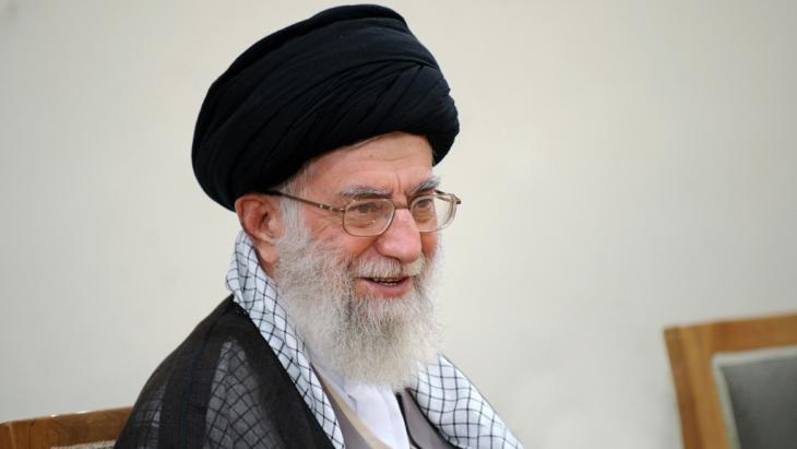 Irans Revolutionsführer Ali Khamenei; Foto: Leader.ir