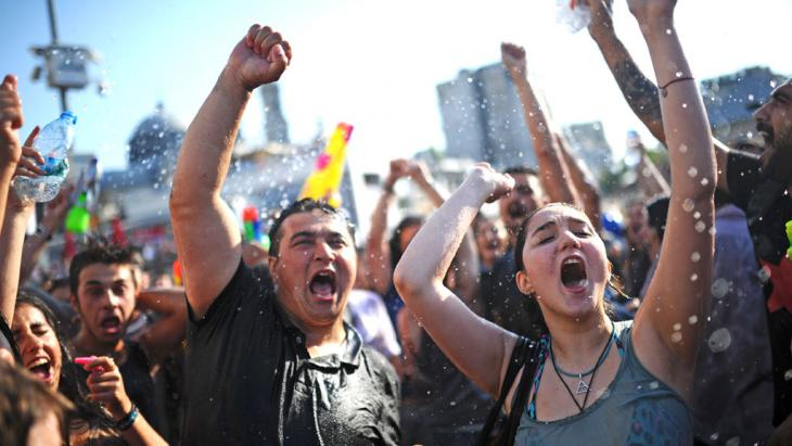 Gezi-Park-Proteste im Sommer 2013, Foto: Bulent Kilic/AFP/Getty Images