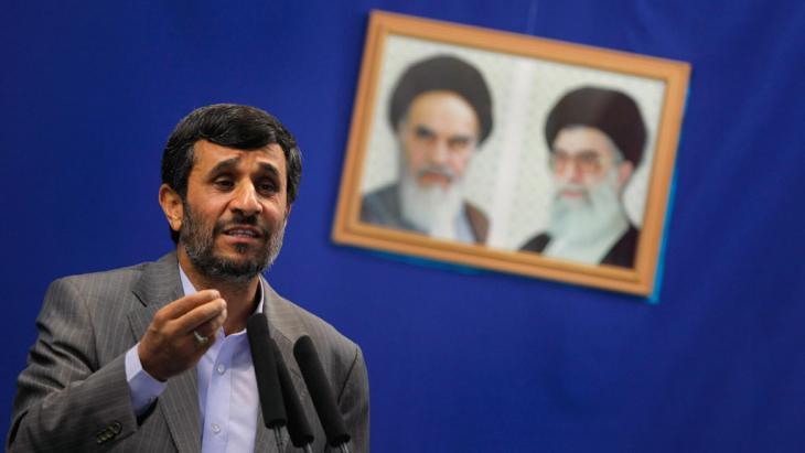 الرئيس الإيراني السابق أحمدي نجاد. Foto: Getty Images/AFP/B. Mehri