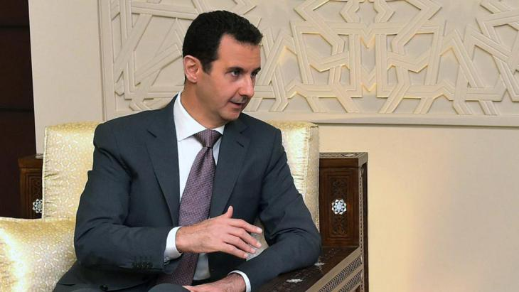 Syrian President Bashar al-Assad, Damascus, 12 July 2015 (photo: Syrian Arab News Agency)