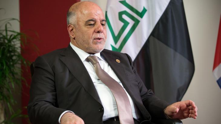 رئيس الوزراء العراقي حيدر العبادي . Foto: C.Court/Getty Images
