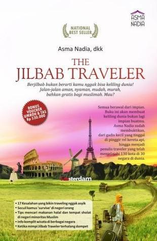 "Buchcover Asma Nadia: ""Jilbab Traveler"""