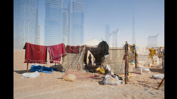 Every Day Climate Change Dubai campaign (photo: James Whitlow Delano/Instagram)