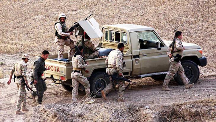 عناصر من قوات البيشمركة في كركوك العراق. (photo: Getty Images)