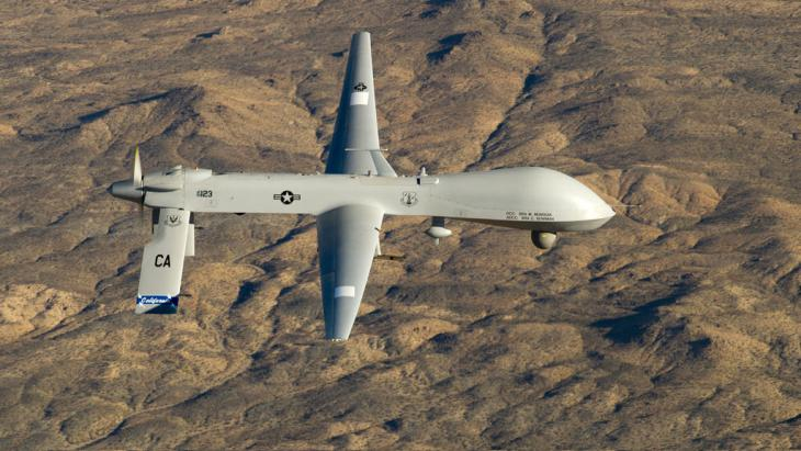 طائرة أمريكية من دون طيار. Foto: picture-alliance/dpa/U.S. Air Force/Tech. Sgt. E. Lopez