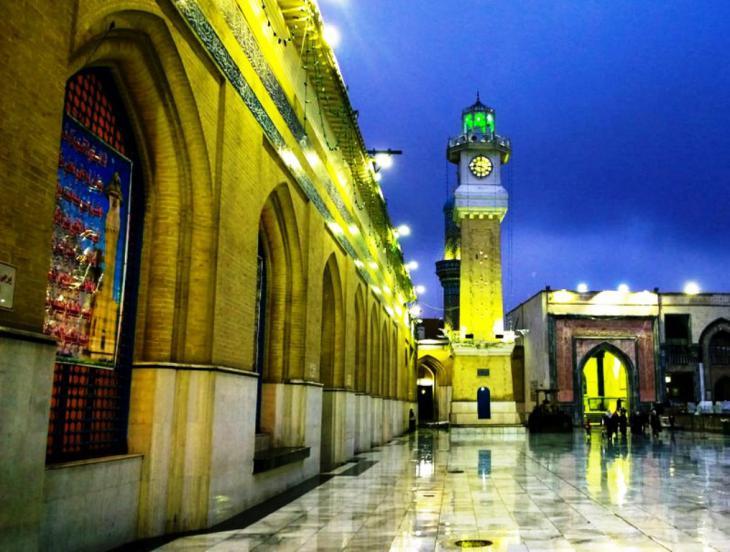 جانب من مرقد الكاظم. - بغداد: حقوق الصورة: علي الغرباوي