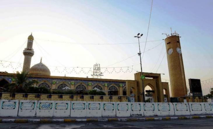 مرقد أبو حنيفة النعمان بن ثابت. - بغداد: حقوق الصورة: علي الغرباوي
