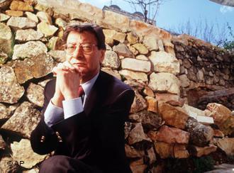 الشاعر العربي الفلسطيني محمود درويش. Foto: AP