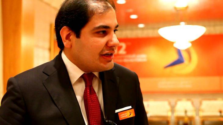 Adel Al Toraifi, Saudi Arabia's Culture and Information Minister (photo: YouTube)