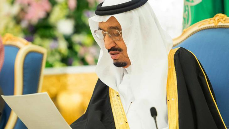 ملك السعودية سلمان بن عبد العزيز آل سعود. (photo: picture-alliance/AP Photo/SPA)
