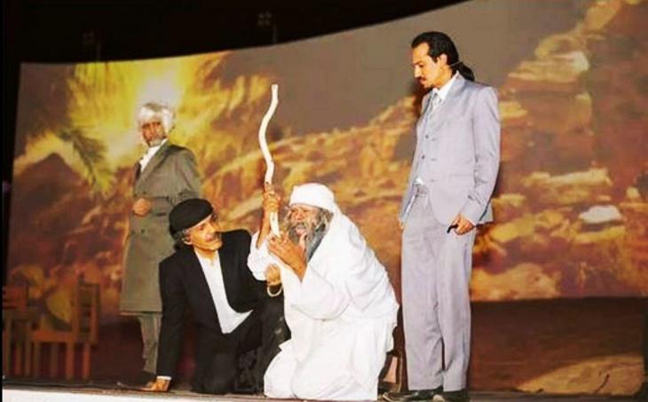 مسرحية تعرض شخصية الشاعر الجاهلي لبيد من العصر الجاهلي.  (photo: private)