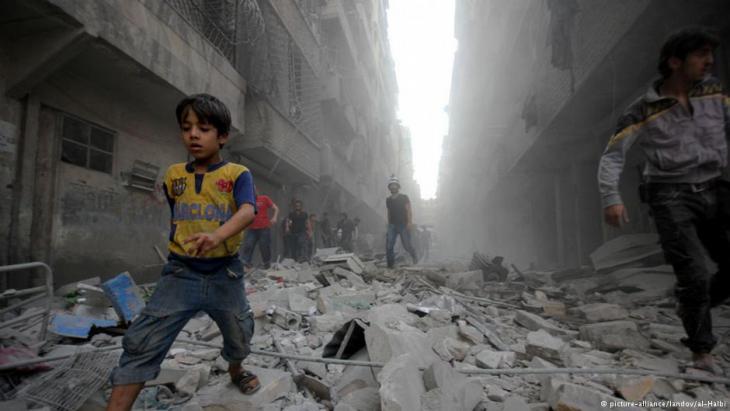 خراب الحرب ودمارها في سوريا. Foto: pictrure-alliance/landov
