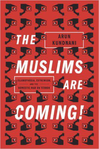 """غلاف كتاب """"المسلمون قادمون"""" (published by Verso)"""
