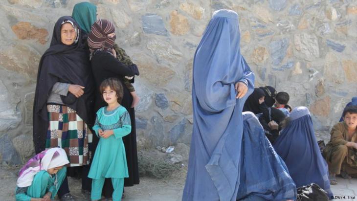 Women and children in Afghanistan (photo: Deutsche Welle)