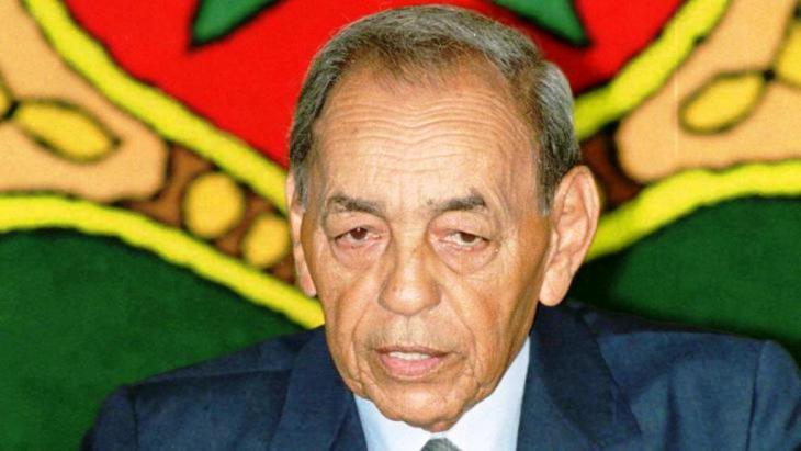 الملك الحسن الثاني . dpa