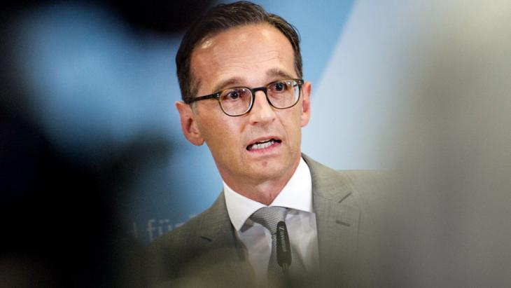وزير العدل الألماني هايكو ماس. Foto: picture-alliance/dpa/P. Zinken