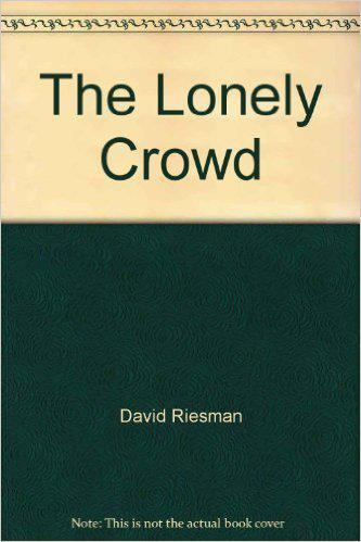 "Buchcover ""The Lonely Crowd"""