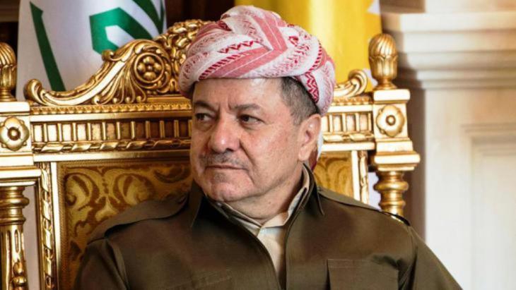 مسعود بارزاني. رويترز