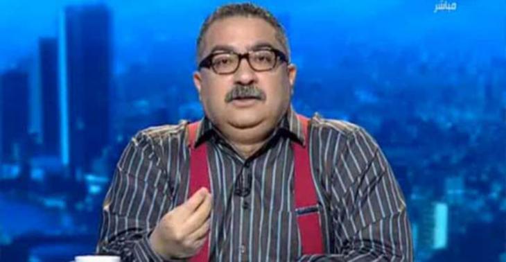 الكاتب الصحفي إبراهيم عيسى. Foto: arab. TV-Mitschnitt