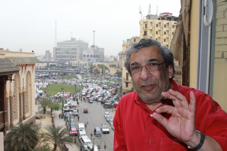 رجل الأعمال والسياسي اليساري من حزب التحالف الشعبي الاشتراكي، محمود حبشي. Foto: Sofian Philip Naceur