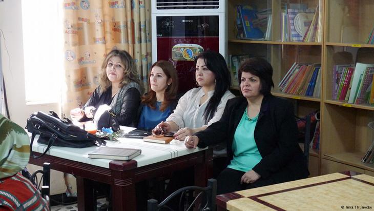 نساء من كردستان العراق في البصرة