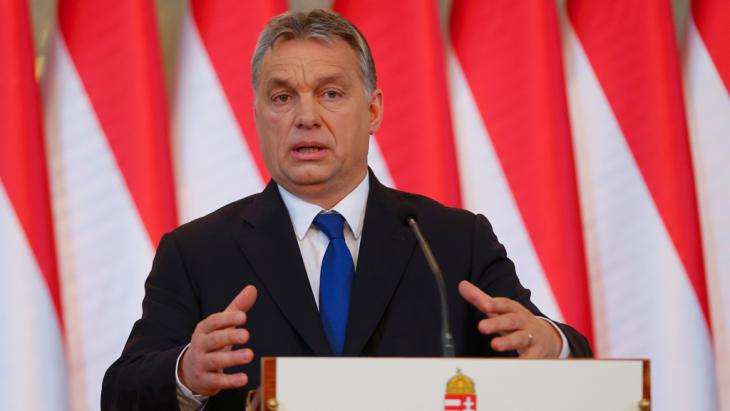 Ungarns Ministerpräsident Viktor Orbán; Foto: Reuters
